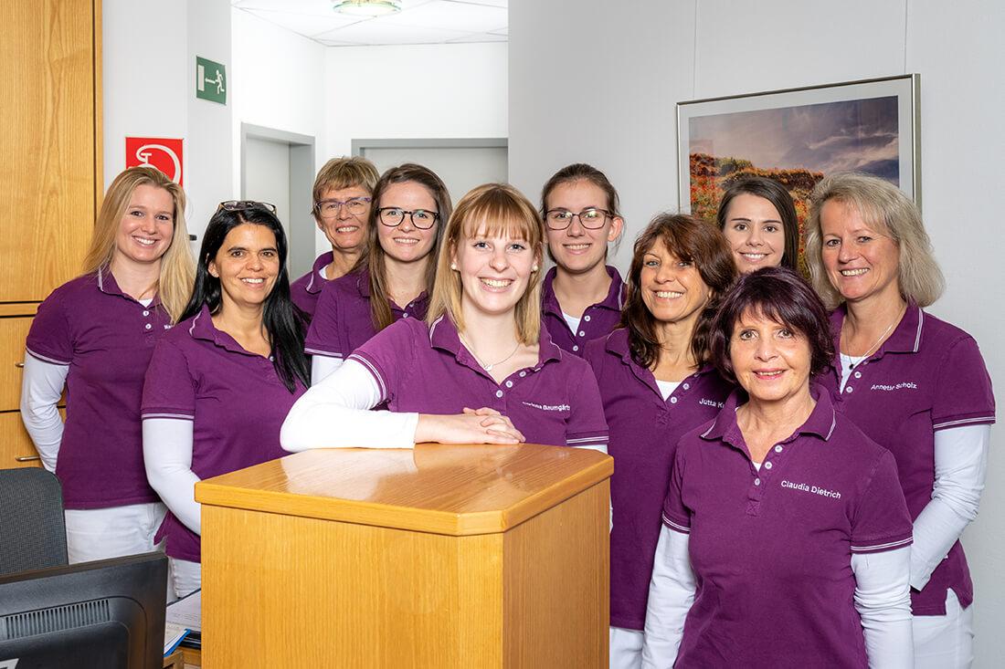 Hausarzt Sigmarszell - Horn / Ferger-Horn - das Helferinnen-Team unserer Praxis