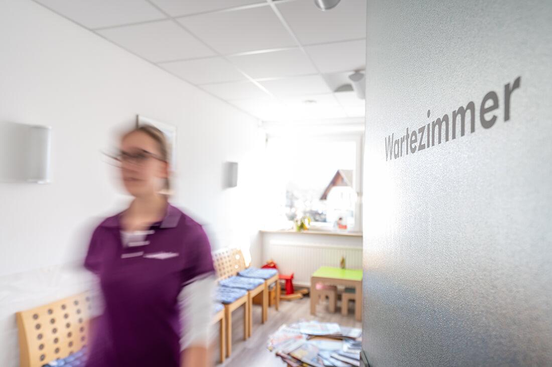 Hausarzt Sigmarszell - Horn / Ferger-Horn - Wartezimmer der Praxis